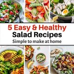 Best Healthy Salad Recipes for lunch & dinner