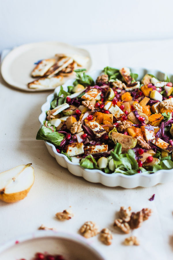 healthy salad recipes for weight loss with greens, proteins and fruits